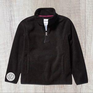 💜 NWT Girls' Quarter-Zip Polar Fleece Jacket